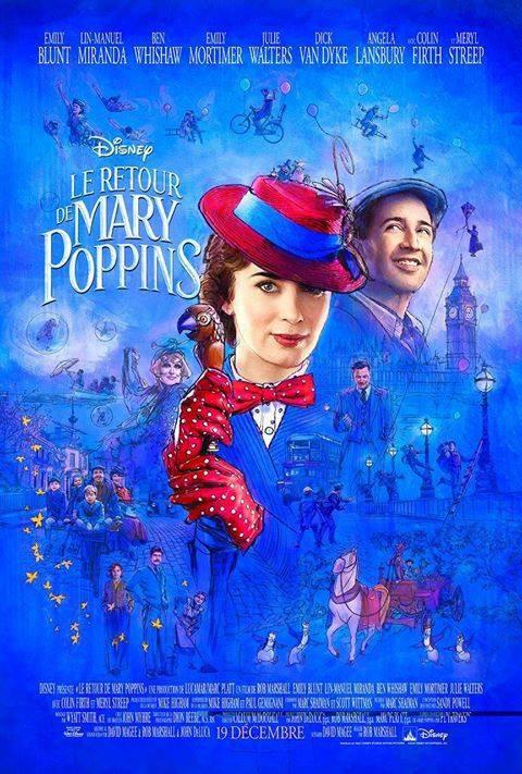 Le Retour de Mary Poppins : une nouvelle affiche !