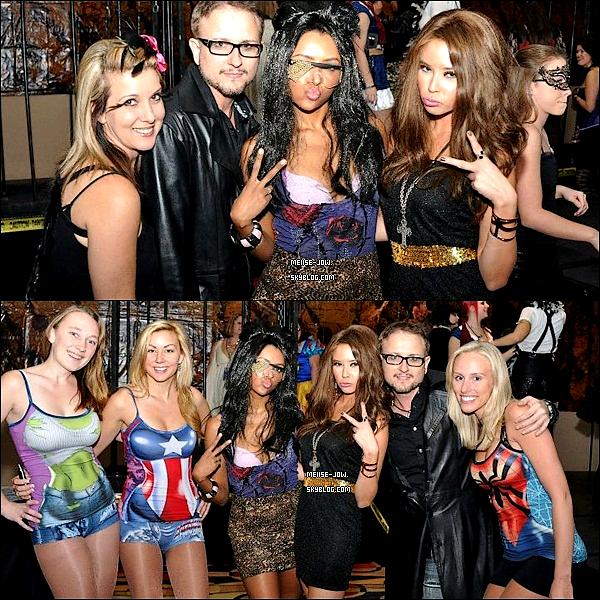 """30 otobre : Melise et le cast de TVD étaient à """" Halloween Party ISF Empoveresque"""".     Ajoutes-moi à tes amis ♥ - ajoute-moi dans tes favoris ♥ - Newsletter ♥"""