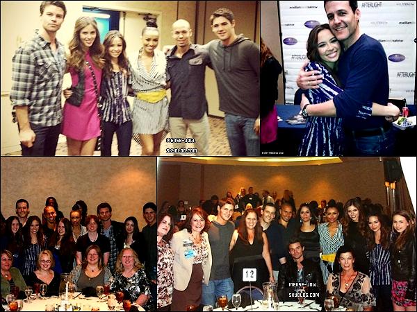28 et 30 octobre : Melise assisté à la convention Eyecon avec le Cast de TVD.     Ajoutes-moi à tes amis ♥ - ajoute-moi dans tes favoris ♥ - Newsletter ♥