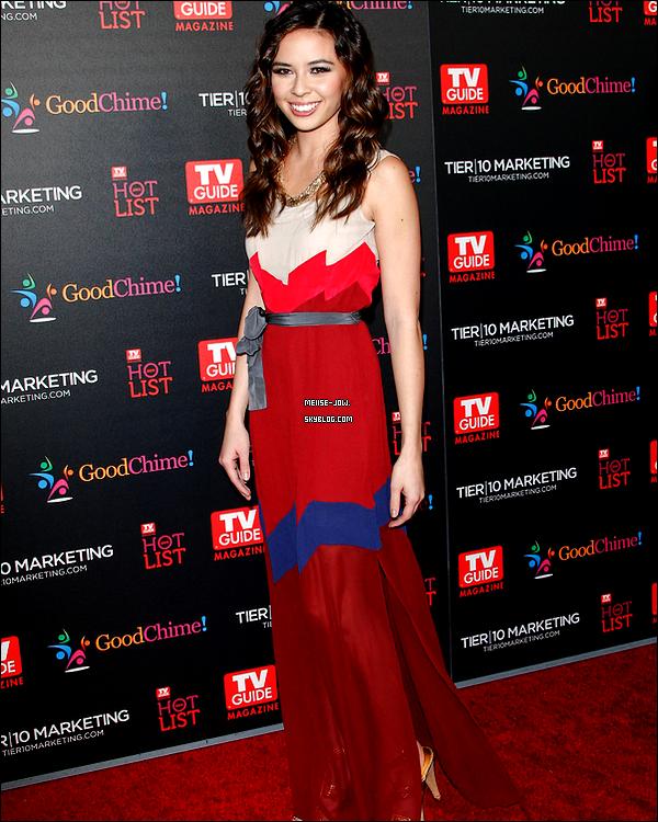 """7 novembre : Melise Jow était au """" TV Guide Magazine Hot List Party """".     Ajoutes-moi à tes amis ♥ - ajoute-moi dans tes favoris ♥ - Newsletter ♥"""