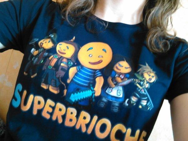 Mon T-Shirt est arrivé !