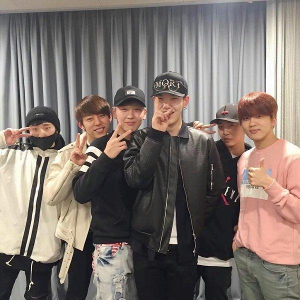 EXO - BTS - B.A.P