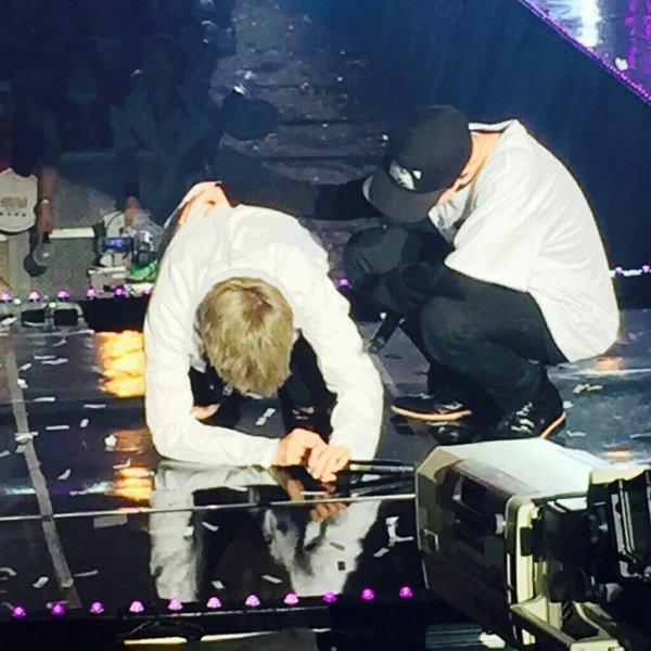 Yoongi pleure pendant le concert ❤
