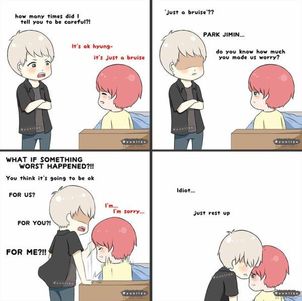 J'avoue que j'adore le Yoonmin :3