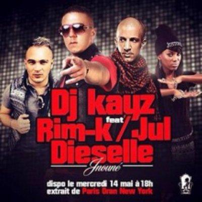 Jnouné de Dj Kayz Feat. Rim'k & Dieselle sur Skyrock