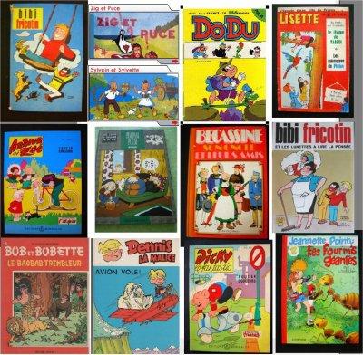 les livres que je lisais dans mon enfance