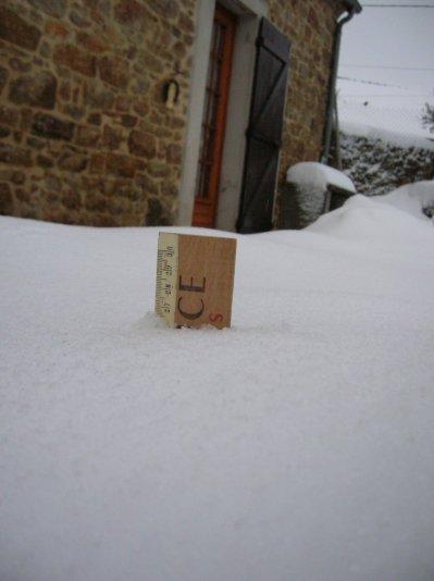 27cms !!!! de neige