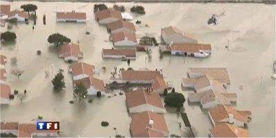 tempête Xanthia en Vendée
