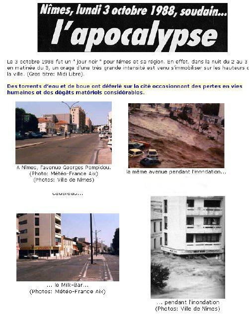 Nîmes en 1988 je me souviens