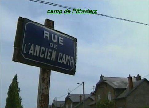 ancien camp de Pithiviers  Beaune La Rolande ,   dernier train  21 septembre