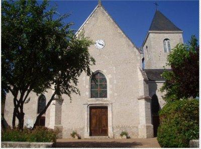 Binas l'eglise  St  Maurice