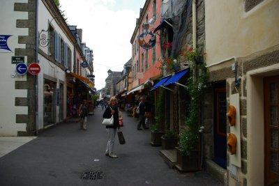 visite  à Concarneau  , ville close