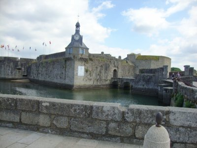 visite  à Concarneau  , ville close