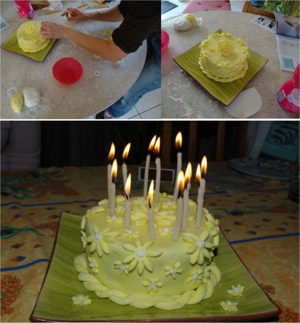 gâteaux fait par  Paméla