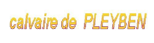 enclos paroissial de Pleyben dans le Finistère