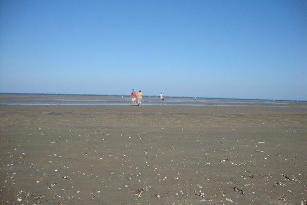 la  mer  !!!  la  Manche !!!!  et la  plage