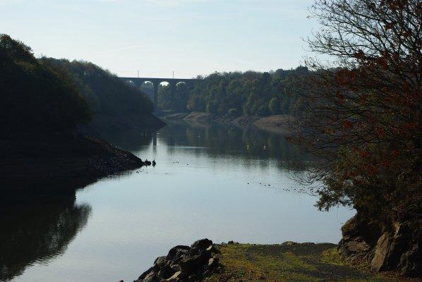 barrage de la Méaugon prés de Ploufragan