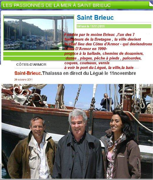 Thalassa  à  Saint Brieuc   1 ére série