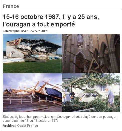 tempête octobre 1987