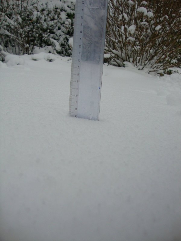 épisode neigeux de mars