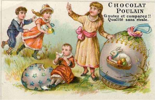 joyeuses Pâques à ceux qui passent