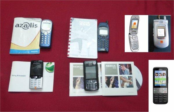 tatoo , téléphones portables