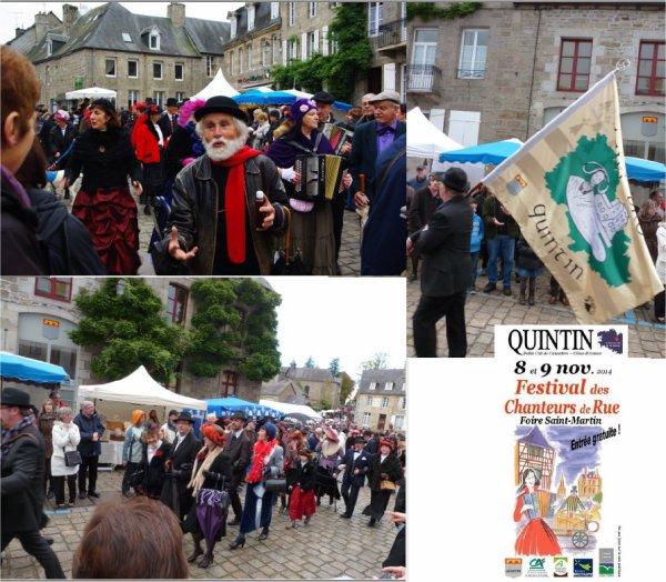 festival des chanteurs de rue à  Quintin 2