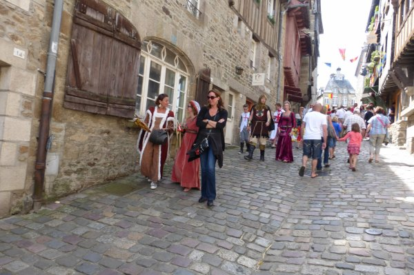fête médiévale à Dinan