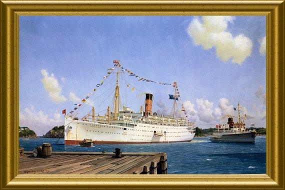 le naufrage du  Lancastria  il y a 70 ans
