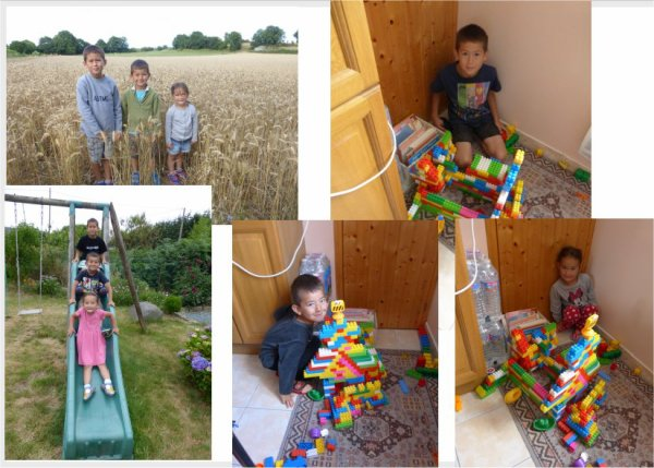 vacances des 3 derniers petits enfants