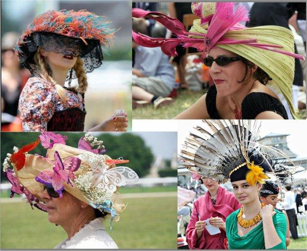 des chapeaux de toutes les couleurs