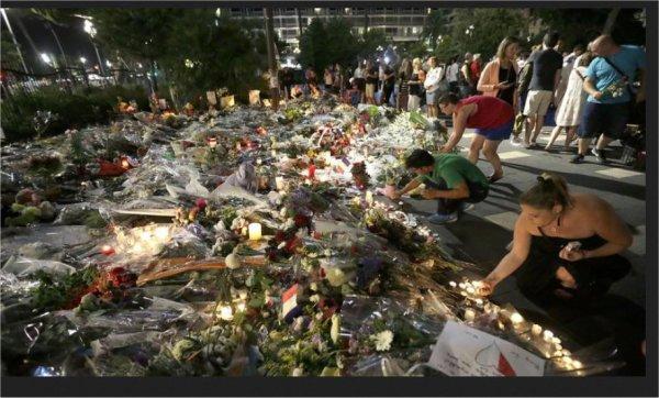 attentat  à  Nice  la mémoire des victimes