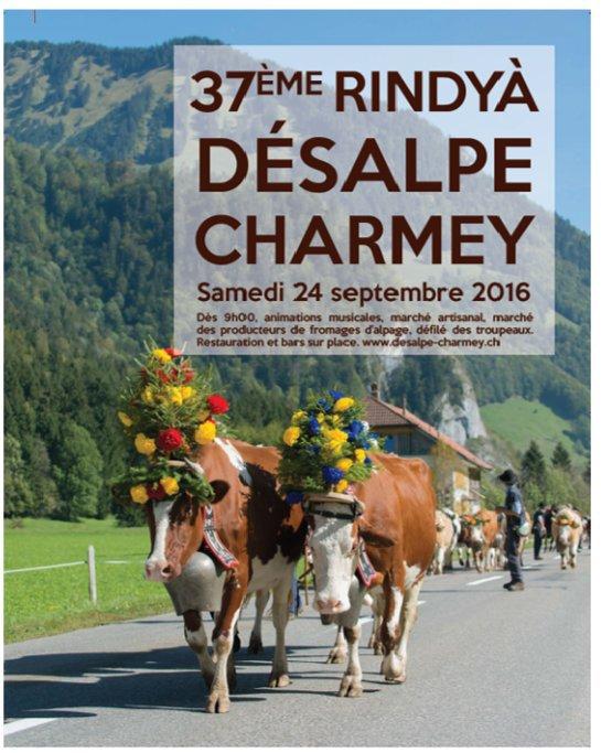 désalpes en Suisse 8