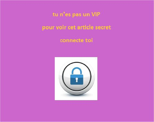 article secret