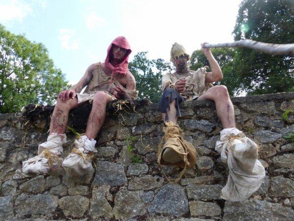 fête médiévale à Moncontour