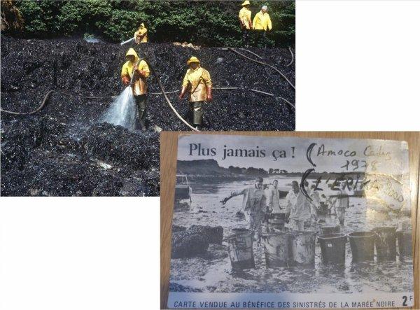 naufrage  Amoco Cadiz    mars 1978