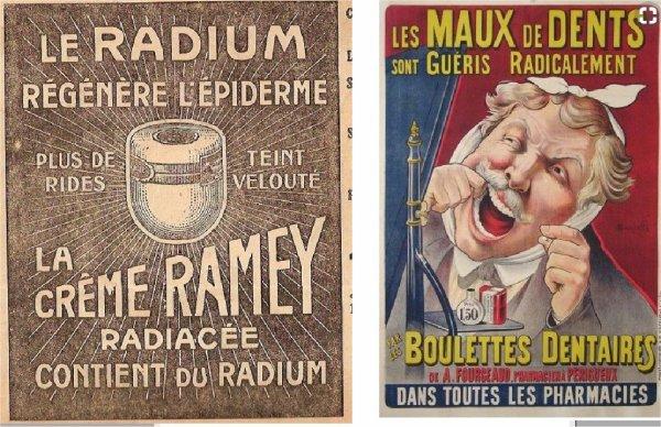 publicités d'autrefois