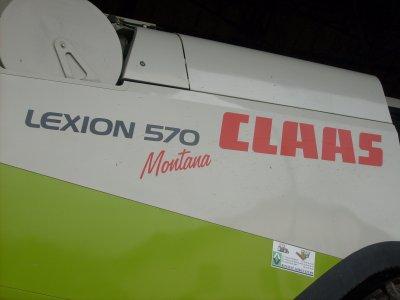 MOISSONNEUSE CLASS  Lexion 570