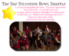 The Sue Sylvester Bowl Shuffle ; Glee ; Twitter !