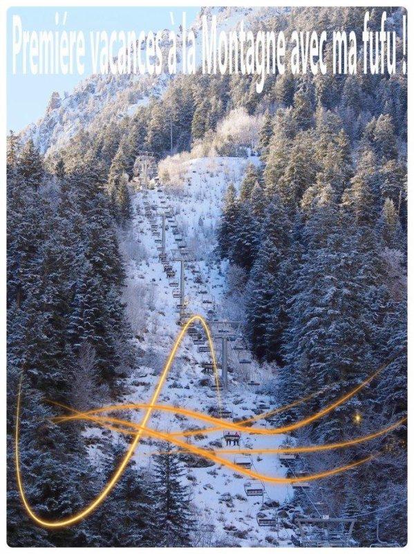 Premiére vacance avec ma furette à la montagne !