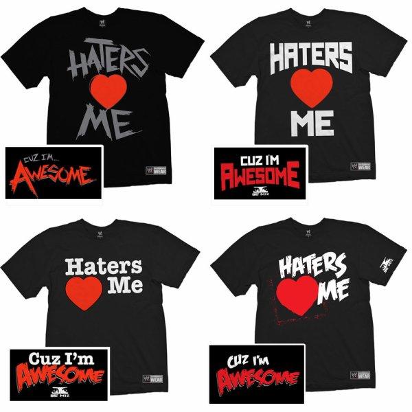 The Miz à Londres! + Vote pour choisir le prochain T-Shirt de Mike!