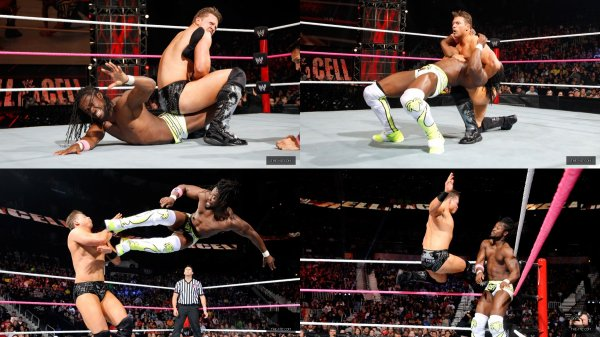 #HIAC2012! The Miz perd contre Kofi Kingston.