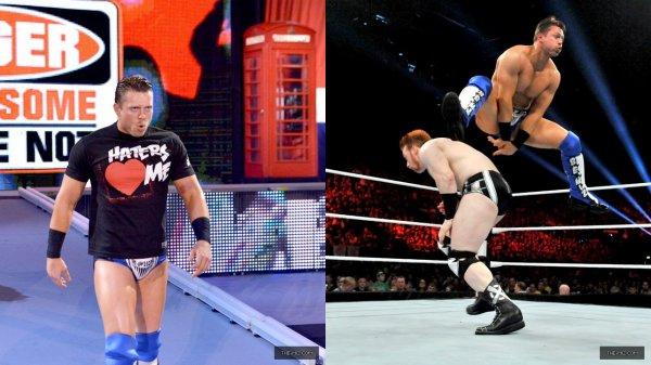Raw du 5/11/12! Miz Vs Sheamus + The Miz quitte la TEAMPunk.