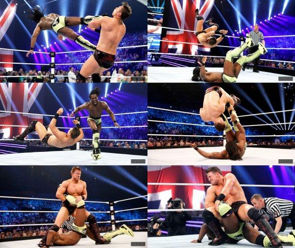 Smackdown! du 6/11/12! Miz Vs Kofi Kingston.