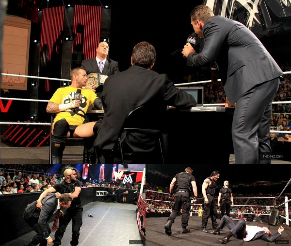 The Miz à Raw! et Smackdown!