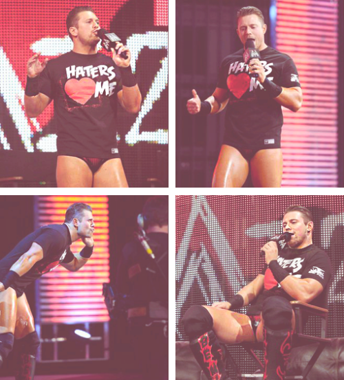 The Miz à Raw!
