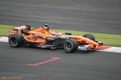 SPYKER-Ferrari F1