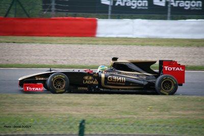 LOTUS RENAULT F1