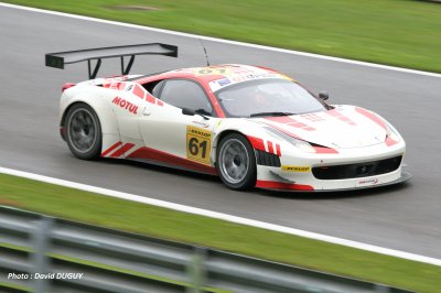 GT OPEN 2011 : FERRARI en force