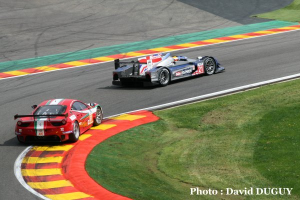Les 6 Heures WEC Spa-Francorchamps 2012